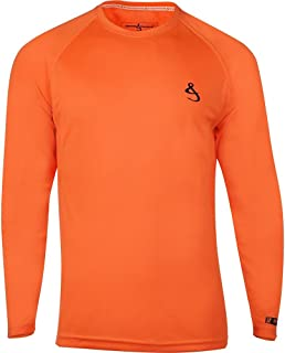 Hook & Tackle® Men's Cool Winds | Long Sleeve | Vented | UV Sun Protection | Performance Fishing Shirt