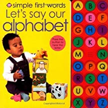 Simple First Words Let's Say our Alphabet by Priddy, Roger (Brdbk Edition) [Boardbook(2009)]