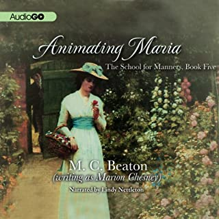 Animating Maria audiobook cover art