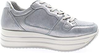 Luxury Fashion | Igi & Co Women 5165677ARGENTO Silver Leather Sneakers | Spring-summer 20
