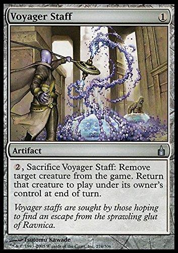 Magic The Gathering - Voyager Staff - Ravnica