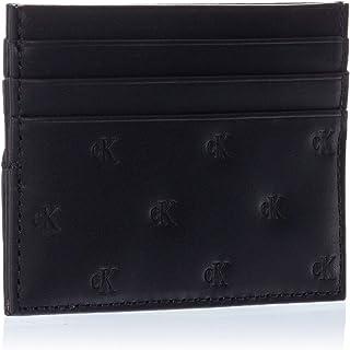 Calvin Klein Jeans Monogram Emboss Card case Wallets, Card Cases & Money Organizers, Black, 10 cm - K50K505644