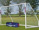 Samba 12 X 6ft Match Football Goal - 2 Pack (Product Dimensions: H 6 x W 12 x D 5 ft)