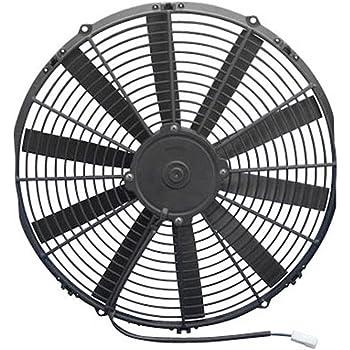 16In Medium Profile For Use W// 25Amp Fuse @ 13V Spal 30101516 Puller Fan