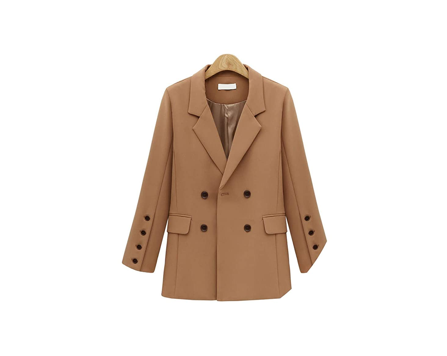 Autumn Winter Suit Blazer Women Breasted Pocket Women Jackets Elegant Blazer Outerwear
