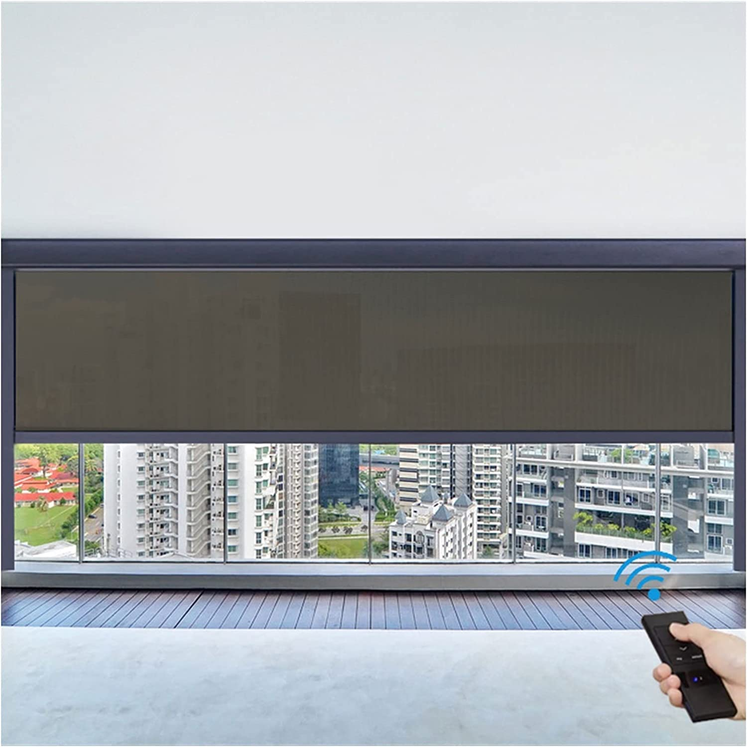YI0877CHANG Blinds for Window with Baltimore Mall Selling Motorized Roller Remot
