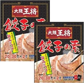 大阪王将 餃子の素(液体調味料40g×2袋、粉末調味料10.8g×2袋)×2袋セット