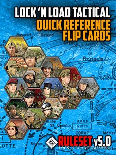 Lock´n Load Tactical Quick Reference Flip Cards v5.0