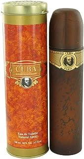 Fragluxe Cuba Gold Eau De Toilette Spray For Men 3.4 Ounce