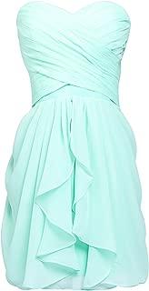 Sarah's Bridal Women's Short/Long Bridesmaid Dressrom Gownsleats