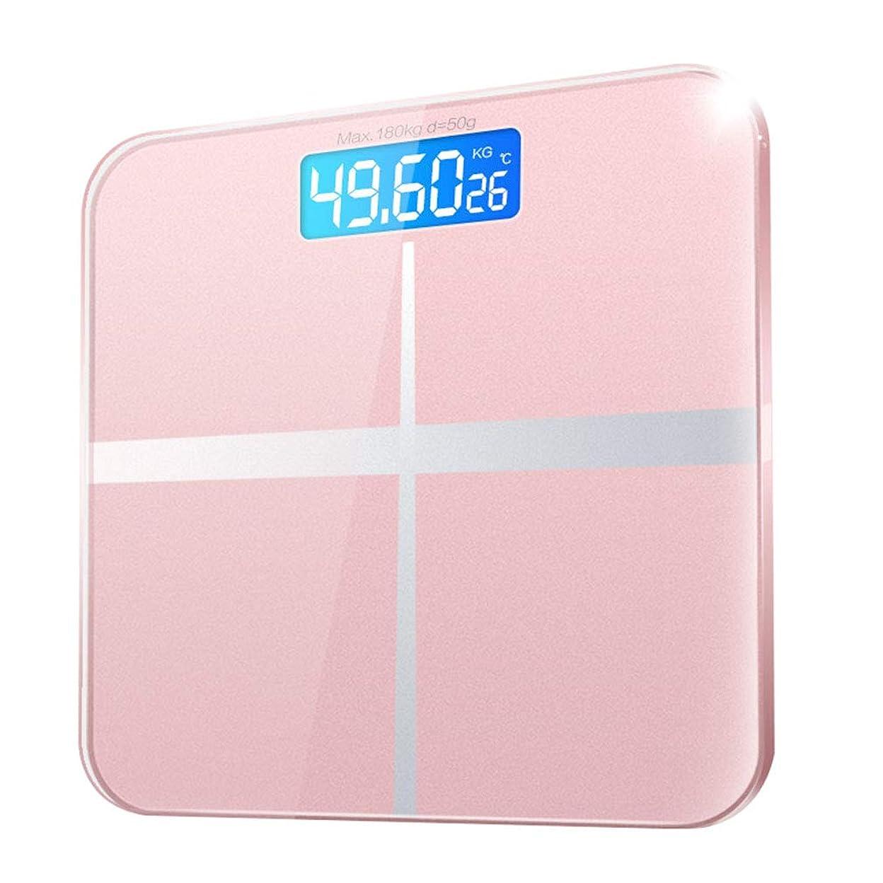 忠実な財布急行するLCDバックライト付きディスプレイ付きスマートバスルーム体重計付き電子デジタル体重計ブルートゥース体脂肪計