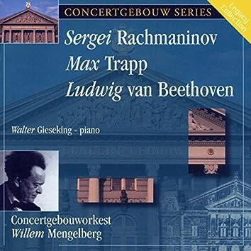 Mengelberg Conducts Rachmaninoff, Trapp, Beethoven: Piano Concertos - Egmont Overture
