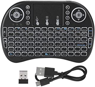 2.4G Small Wireless Keyboard Mouses Wireless KeyboardFlymouse with Backlight Dual Mouse Left and Right Button Design for S...