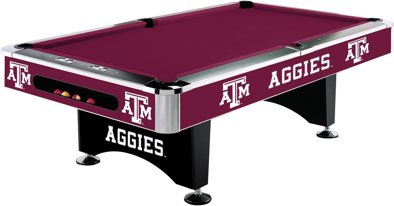 Imperial International Texas Special Raleigh Mall sale item AM Aggies Table Pool 8'