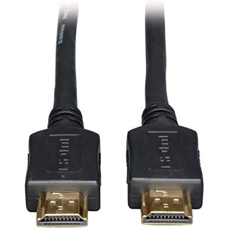 Tripp Lite High Speed HDMI Cable, HD 1080p, Digital Video with Audio (M/M), Black, 30-ft. (P568-030)