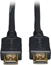 Tripp Lite Standard Speed HDMI Cable, 1080P, Digital Video with Audio (M/M), Black, 50-ft. (P568-050)