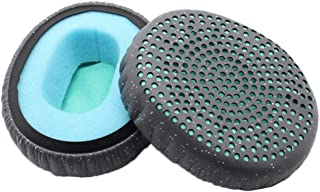 D DOLITY Soft Earphones Earpad Replacement Gaming Headset Ear Pad Cushion Earpads Cover Repair Parts for Skullcandy Riff - Blue
