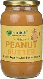 Nutriwish Peanut Butter Bottle, 1000 g
