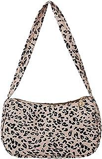 KANUBI Umhängetaschen, Handtaschen, Clutches, flauschige Handtaschen, Brieftaschen unter den Armen, Umhängetaschen, Schulter-Unterarmhandtaschen aus Segeltuch mit Tiermotiv, Plüschhandtaschen