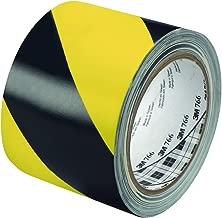 3M T9687662PK Striped Vinyl Tape, 3