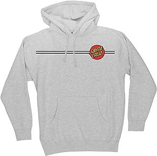 Classic Dot Hooded Pullover Sweatshirt