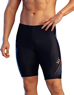 361º Swim Jammers for Men Boys,Chlorine Resistant Tight Athletic Long Swimsuit for Training