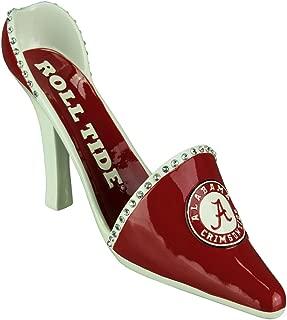 Alabama Crimson Tide High Heeled Shoe Decorative Wine Bottle Holder