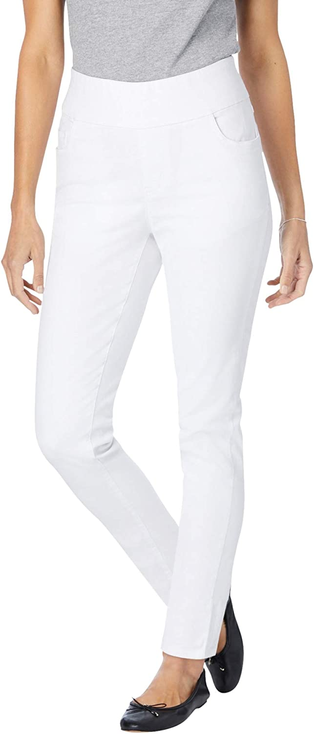 Woman Within Women's Plus Size Petite Pull-On Skinny Jean