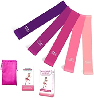 Yarratech Resistance Band - Different Levels Resistance loop Exercise band Workout Bands for Yoga Rehab, Strength Training...