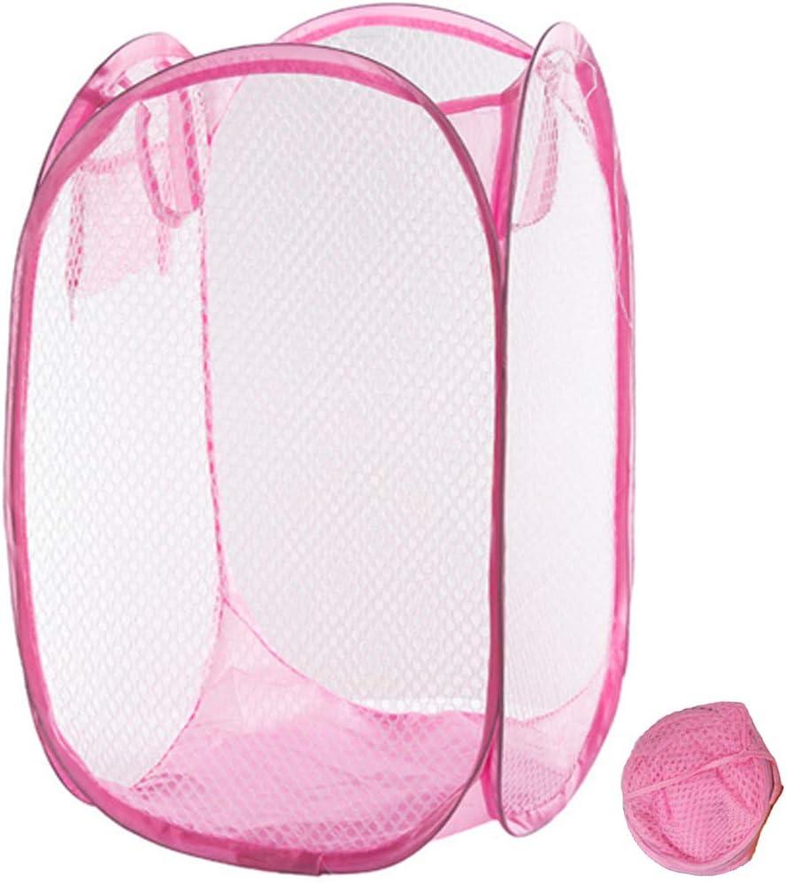 Qtopun Mesh Popup High quality new Laundry Foldable Hamper Basket Spasm price Portabl