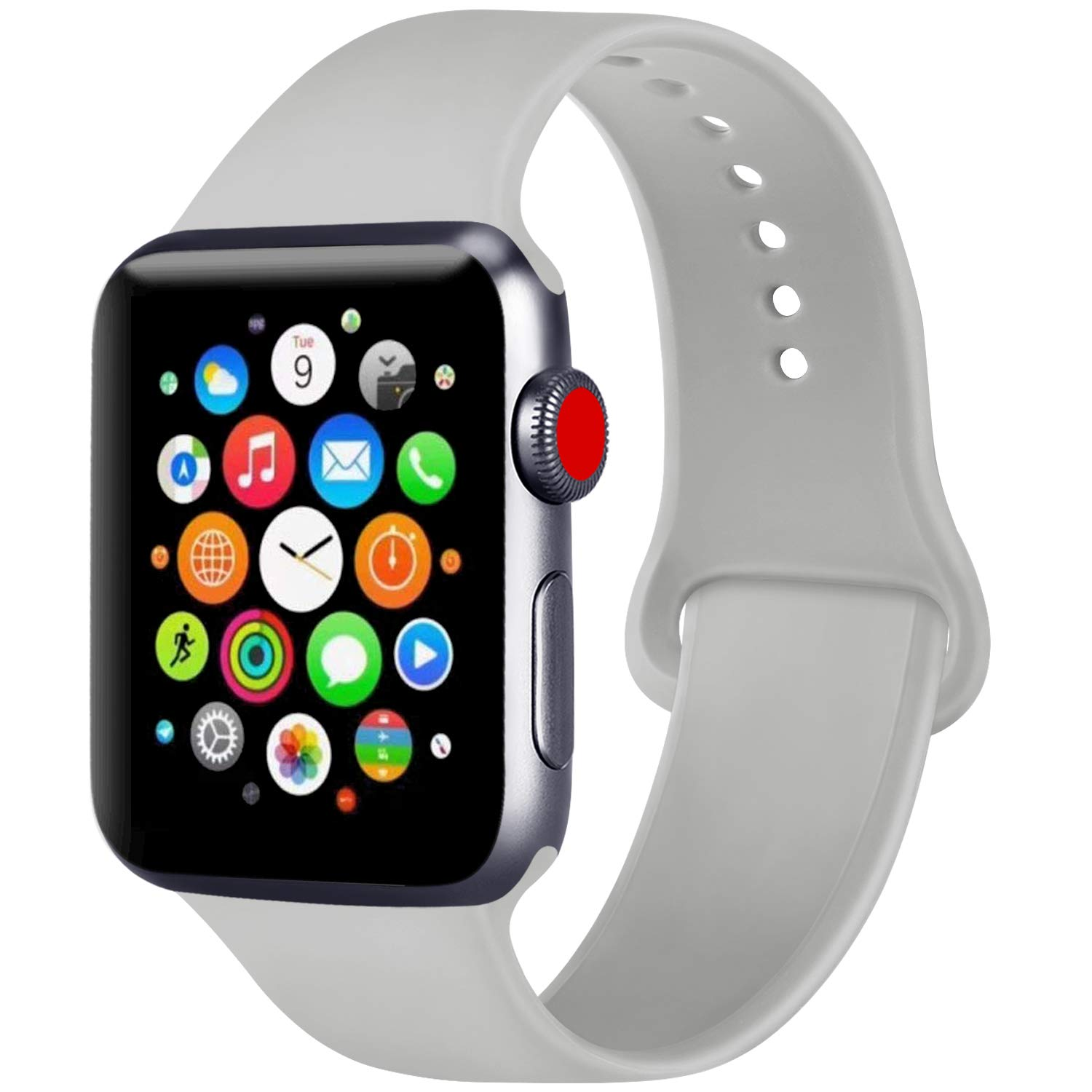 ATUP Correa Compatible con para Apple Watch Correa 38mm 42mm 40mm 44mm, Correa de Repuesto de
