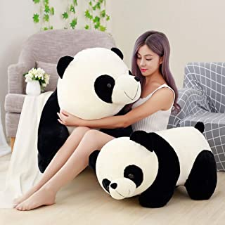 HJGYFTDEOULindo bebé Oso Panda Gigante Gigante Felpa Animal de Peluche muñeca Animales Juguete Almohada Dibujos Animados Kawaii muñecas niñas Amante Regalos