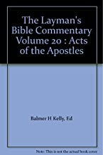 The Layman's Bible Commentary Volume 20 : Acts of the Apostles