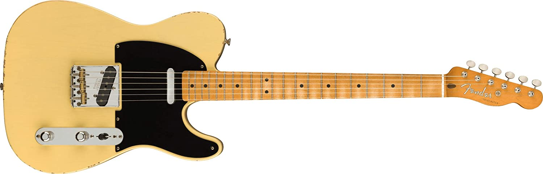 Fender Vintera Road Worn 超安い '50s Maple Guitar Telecaster Electric 爆買いセール
