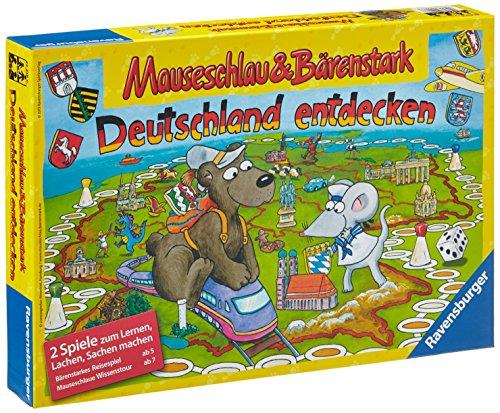 Preisvergleich Produktbild Ravensburger 22218 - Mauseschlau und Bärenstark