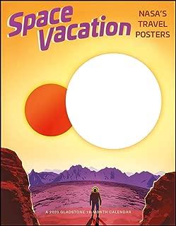 Space Vacation Big Mini 2020 Calendar