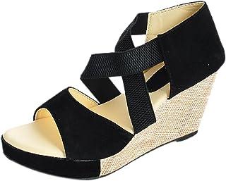 Kanchan Women's Velvet Fashion Sandal
