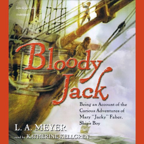 Bloody Jack audiobook cover art