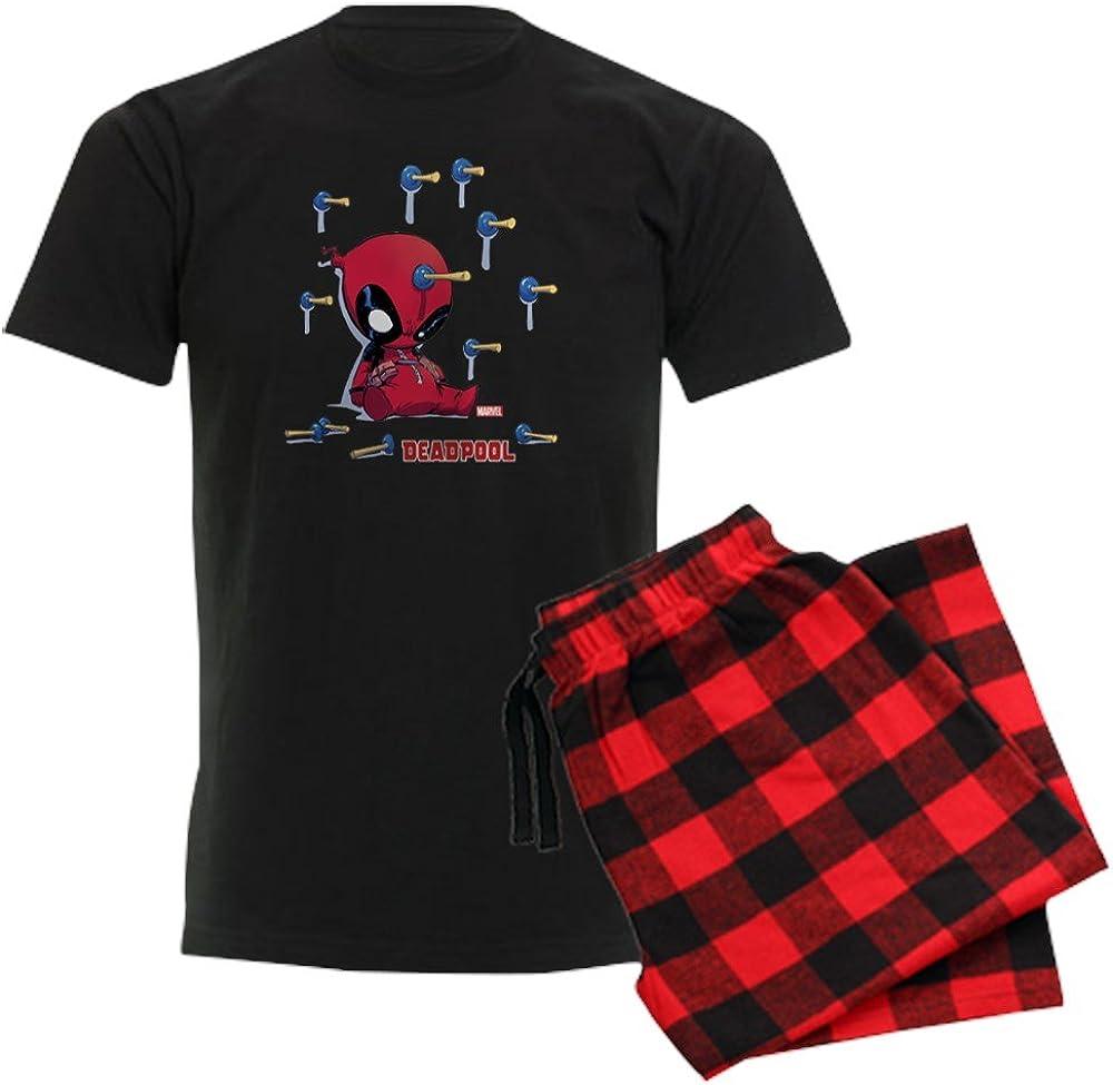 CafePress Deadpool Toy Darts Men's Unisex Novelty ! Super beauty product restock quality top! store Pajamas Dark C