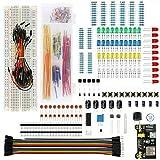 ZHITING 1set Electronic Component Starter Kit Breadboard LED Buzzer Resistor Transistor