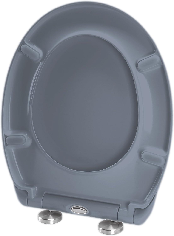37 x 44 x 4.5 cm MSV Asiento WC eclipsable Marr/ón