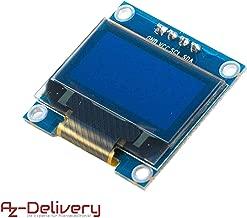AZDelivery 128 x 64 Pixel 0,96 Zoll OLED I2C Display für Arduino und Raspberry Pi mit gratis eBook!