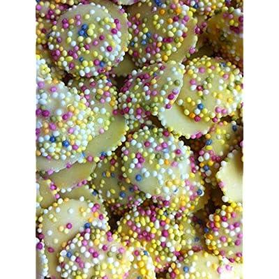 hannahs white chocolate snowies (jazzies), 1 kg Hannahs White Chocolate Snowies (Jazzies), 1 kg, SNOWIES1KG-A 61QAw2MxBCL