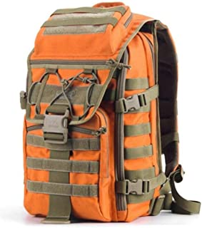 ZRWJ Tactical Backpack, Outdoor Sports, Casual Fashion, Personalized Travel, Hiking Backpack, Orange (Color : Orange)