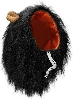 Vivifying Lion Mane Costume, Adjustable Pet Lion Mane Wig with Ears for Medium and Large Dog