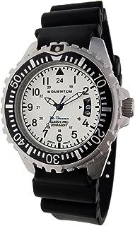 Men & Women's Dive Series Quartz Sports Watch - M-Ocean | Water Resistant, Easy to Read Dial, Date, Screw Crown, Stainless Steel Case & Bezel | Japanese Mvmt | Analog