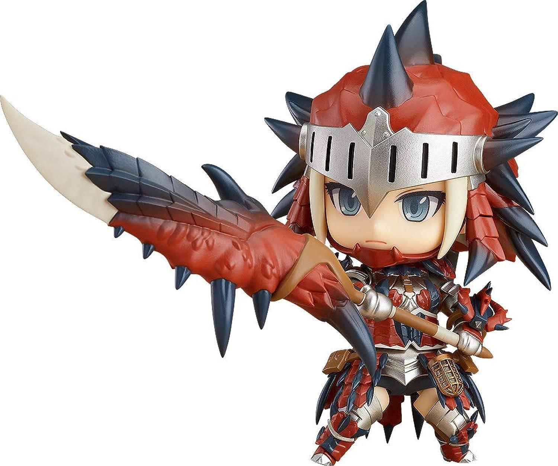 Good Smile Monster Hunter World Hunter Female Rathalos Armor Nendoroid DX azione cifra