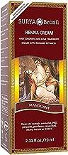 Henna Mahogany Cream Surya Nature, Inc 2.31 oz Cream