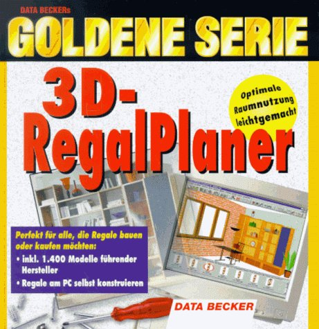 Goldene Serie. 3D- Regalplaner. CD- ROM für Windows 95