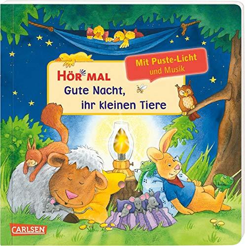 Hör mal (Soundbuch): Mach mit - Pust aus: Gute Nacht, ihr kleinen Tiere: Mit Puste-Licht und Musik - ab 2 Jahren